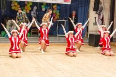 Besonders stolz waren die Mädels der Tanzsterne, in diesem Jahr Ihre neuen Gardekostüme präsentieren zu können!